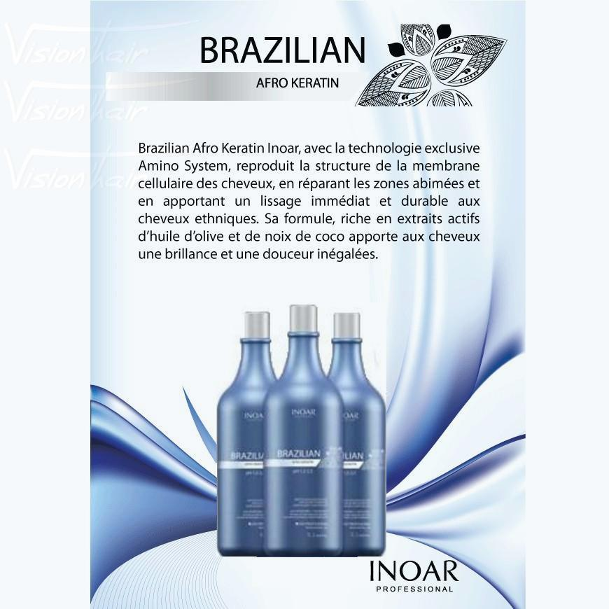 Brazilian Afro Keratin Inoar Kit (3x1000ml)